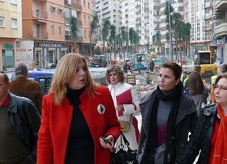 El PSOE de Motril pide al gobierno municipal que se aceleren las obras de la Avda. de Salobreña