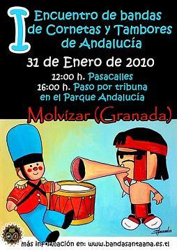 Encuentro de Bandas de Cornetas y Tambores en Molvízar