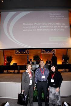El área de Mujer participa en un Seminario Internacional sobre prevención y protección de mujeres víctimas de violencia de género