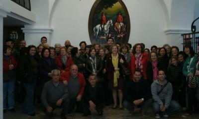 "La iniciativa ""Comparte tu comarca"" visita las bodegas de Ron Montero"