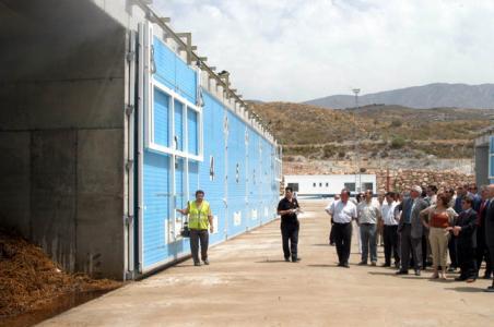 Mientras ECOAL pide una alternatica al cierre provisional de la planta de residuos vegetales Escámez y Villoslada señalan a la Diputación como única causante del mismo