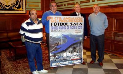 Motril acoge el campeonato de Andalucía de selecciones provinciales de fútbol sala alevín y benjamín