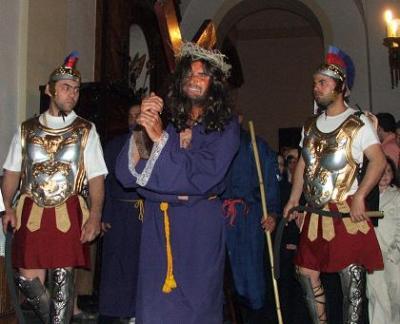 Albuñol celebra la pasión en vivo, el Domingo de Ramos y el Jueves Santo