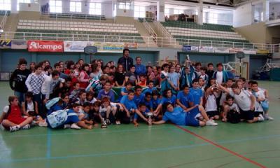 El CEIP Virgen de la Cabeza vence el V Torneo de Primavera de baloncesto celebrado en la mañana de ayer