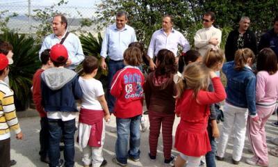 El vivero municipal de Motril punto de encuentro con los escolares de la ciudad