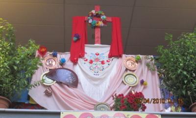 El Mercado Municipal de Abastos ya tiene su Cruz de Mayo