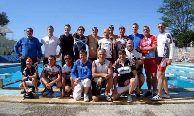 Atletas de élite se entrenan en Motril