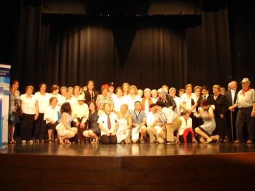 Gran éxito de participación en la V edición del Teatro de mayores