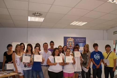 El curso de inglés para viajeros clausura sus jornadas en el CICA