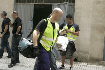 Ocho detenidos en una operación antidroga en Granada y Motril