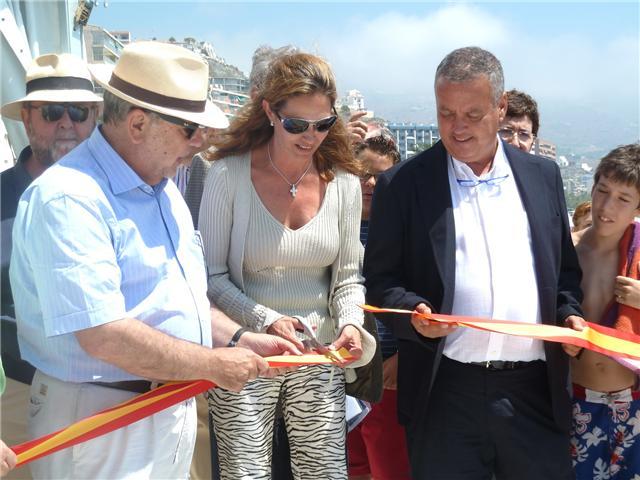 Inaugurado el espigón de Velilla en Almuñécar