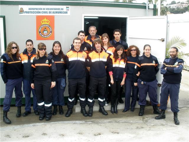 Protección Civil de Almuñécar controla las playas del término municipal