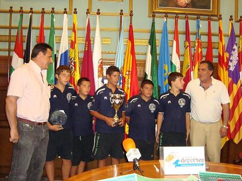 El equipo del CW Motril se proclama campeón de la II Liga Mediterránea Infantil de Waterpolo