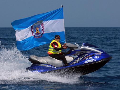 Con la llegada al puerto motrileño se dio por concluida la IV edición de la Travesía Motril Melilla Motril