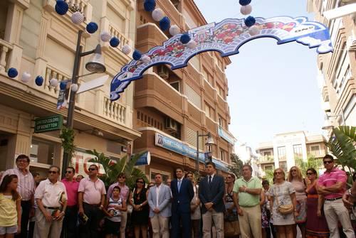 Carlos Rojas inaugura la Feria de Día y con ella la Fiestas Populares de Motril