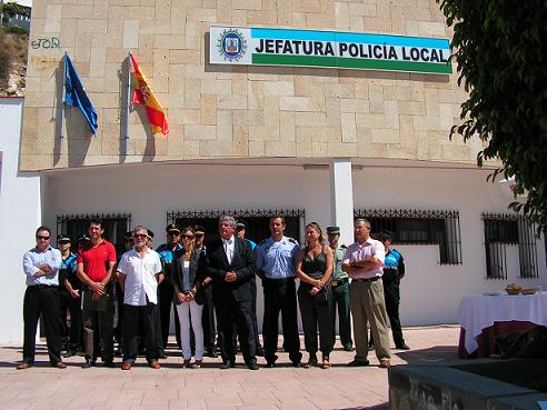 LA POLICIA LOCAL DE SALOBREÑA ESTRENA NUEVA JEFATURA