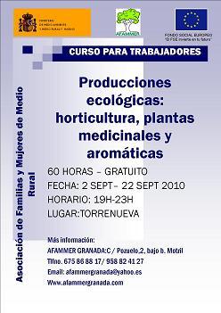 Curso sobre diversificiación de la economía rural de AFAMMER
