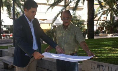 El Ayuntamiento de Motril remodelará los jardines del paseo de Las Explanadas