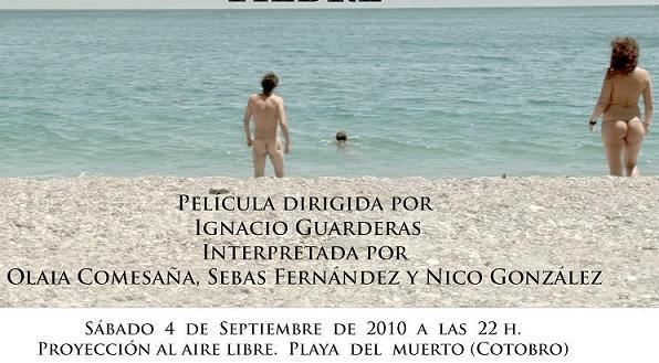 Fiesta de depedida del verano en playa nudista de El Muerto de Almuñécar