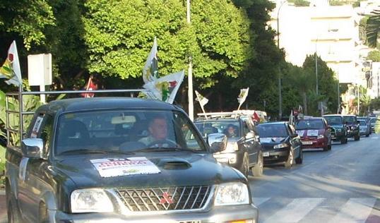 La CGT de Almuñécar se manifiesta en favor de la huelga general