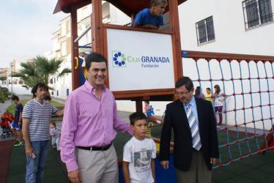 Las Angustias cuenta con un nuevo parque infantil