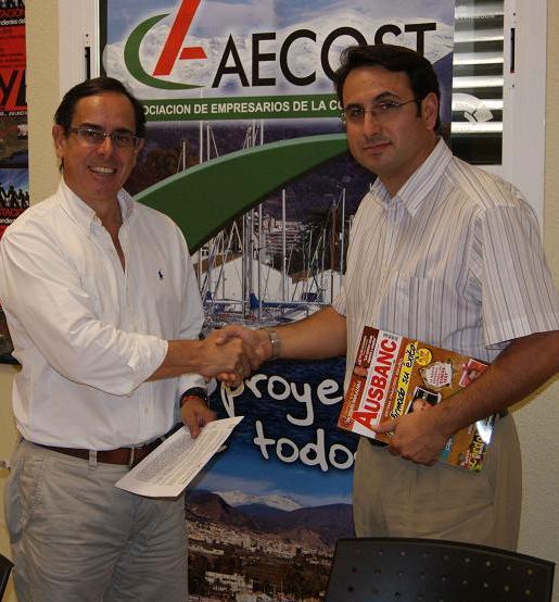 AECOST firma un convenio con Ausbanc