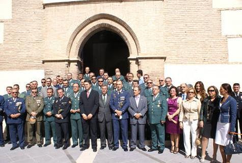 El Gobierno Municipal de Motril asiste a los actos celebrados el día de la Guardia Civil