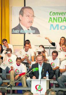 Luis Rubiales inicia la campaña electoral con Convergencia Andaluza