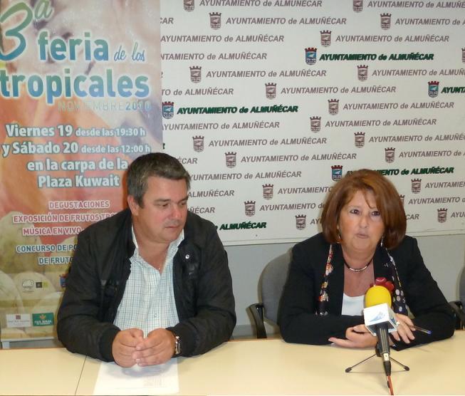 LA III FERIA DE LOS TROPICALES SE CELEBRA EN ALMUÑÉCAR EL PRÓXIMO FIN DE SEMANA
