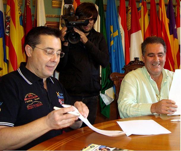 El Área de Deportes se convierte en patrocinador de la Escudería Molino Motril para la temporada 2010/2011