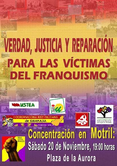 Manifiesto de la Coordinadora de la República de Granada