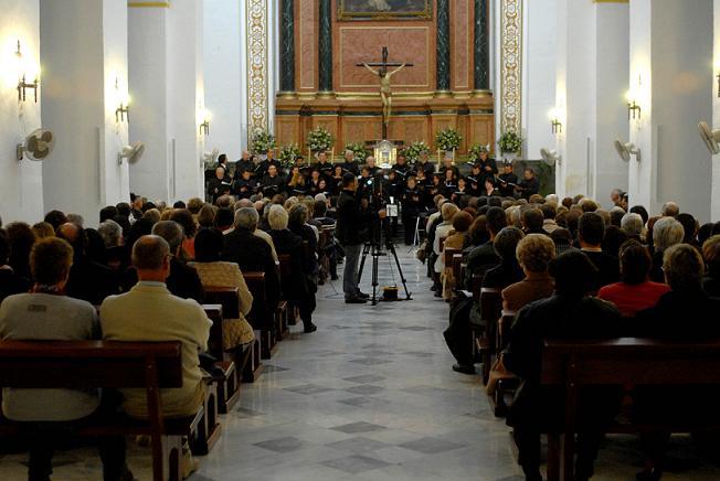La Orquesta de Cámara Andaluz pone el broche de oro al III Festival de Música Sacra 'Rey Balduino