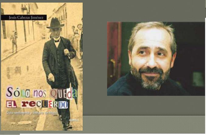 """Jesús Cabezas presenta su libro """"Sólo nos queda el recuerdo"""""""
