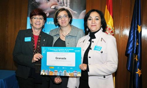 Medio Ambiente de la Diputación que dirige la alcaldesa de Vélez de Benaudalla premiada por UNICEF