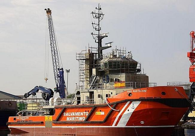 """El Ministerio de Fomento incorpora a su flota el remolcador """"Sar Mastelero"""" con base en Motril"""