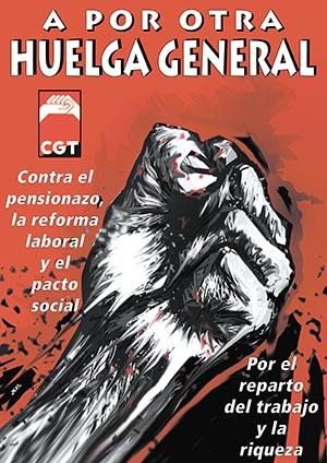 Las CGT de Motril convoca una manifestación el 27 de enero contra la reforma laboral y de las pensiones
