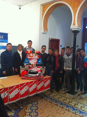 La concejalía de Juventud entrega los premios a los ganadores de la Gymkhana 2010