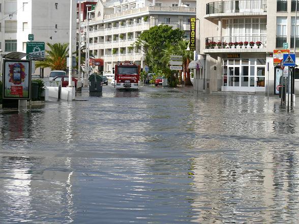 El PSOE de Motril pide al ayuntamiento solución al problema de las inundaciones de la zona del Pelaillo y Poniente