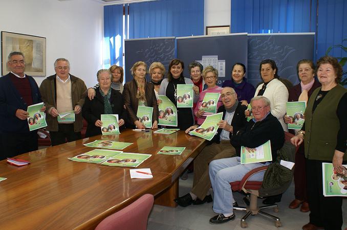 El Ayuntamiento de Motril presenta la programación de actividades de los Centros de Día de personas mayores 2011