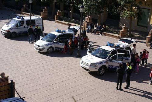 La Policía Local detiene a dos varones por presunta violencia de género