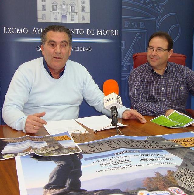 Deportes y Medio Ambiente colaboran con el Club El Sendero para la organización de seis nuevas rutas