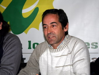 Angel Coello (IU) solicita la retirada de la propaganda electoral una vez finalizados los comicios