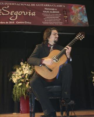 Se convoca el XXVII Certamen de Guitarra Andrés Segovia de Almuñécar