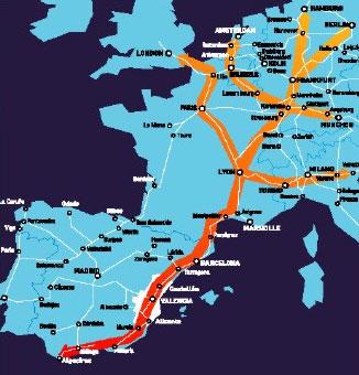 Hasta mediados de 2011 no se licitará el estudio del Corredor Mediterráneo a su paso por Motril