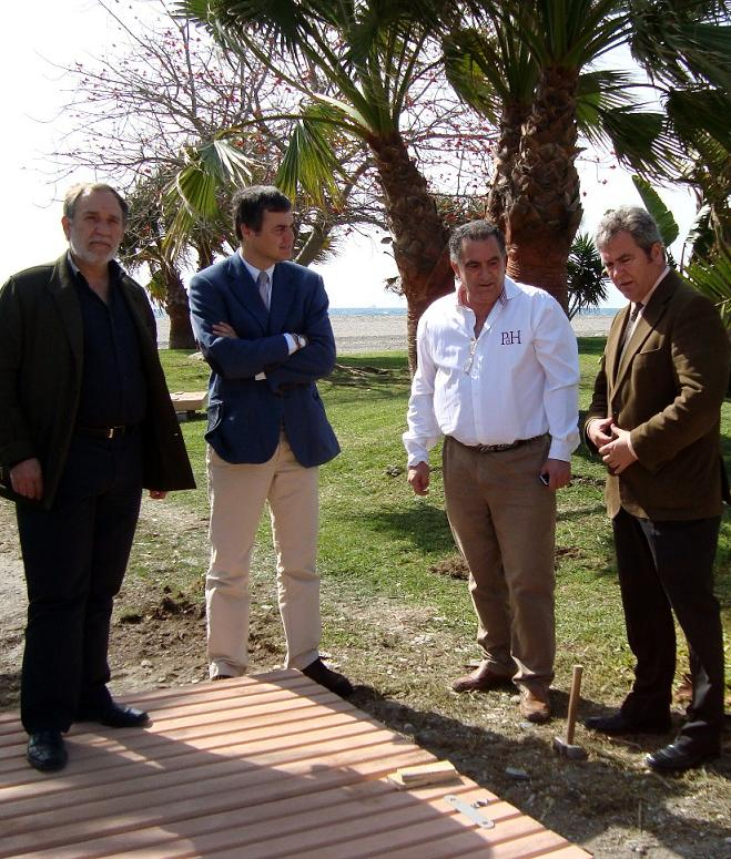Las playas motrileñas contarán con 350 metros de modernas pasarelas