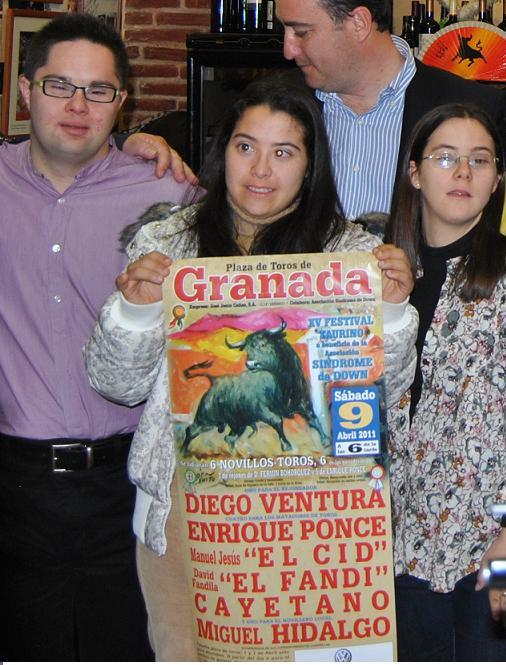 Enrique Ponce, El fandi, Cayetano Rivera, El Cid y Diego Ventura en el Festival Taurino Granadown