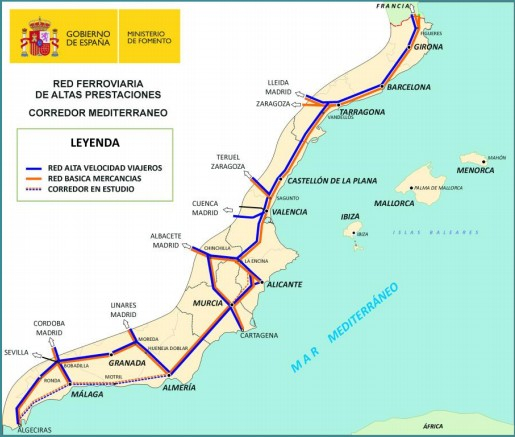 El Gobierno municipal muestra su rechazo ante la decisión de dejar en estudio la conexión de Motril con el Corredor Ferroviario