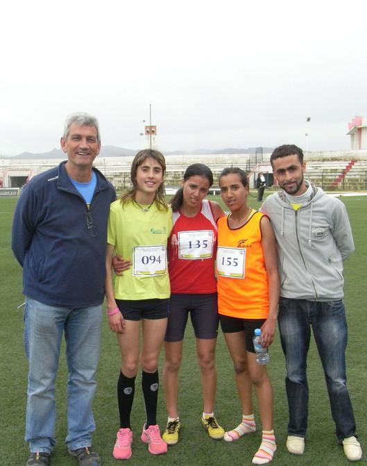 Excelentes resultados de los atletas motrileños en la octava edición de la Milla de Tetuán