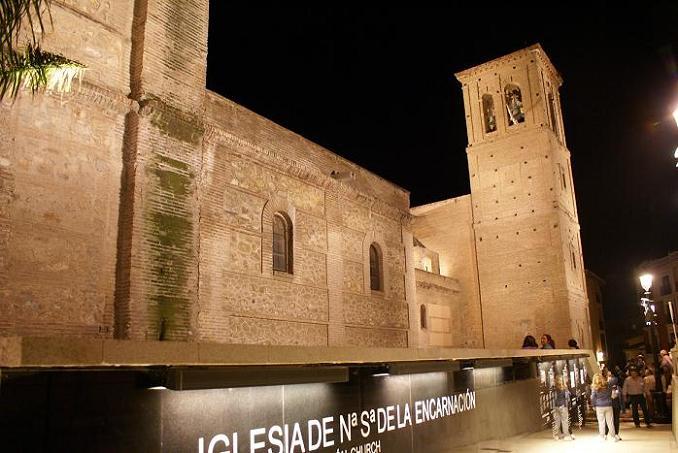 El Ayuntamiento de Motril pone en servicio la iluminación artística y mejora del entorno de la Iglesia de la Encarnación