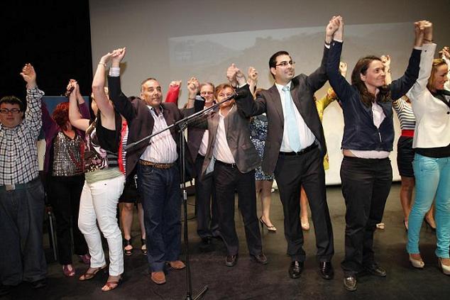 Rubén Rodríguez presenta a su lista para conseguir la alcaldía de Salobreña por el Partido Popular